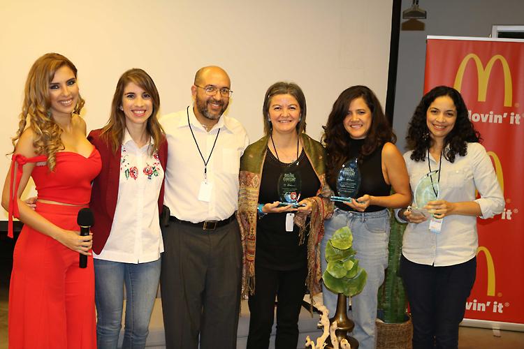 Ganadoras Digital Content Awards